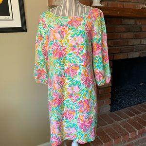 Lilly Pulitzer Cindy Little Lilet Shift Dress Sz 8